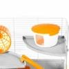 Kép 2/5 - Pino teljesen felszerelt hörcsögketrec – 45x27x34 cm