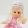 Kép 1/5 - Interaktív beszélő és pisilő játék hajas baba – kiegészítőkkel