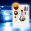 Kép 1/3 - H7 12V tartalék autós izzókészlet / 9 darabos