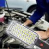 Kép 1/4 - Tölthető LED munkalámpa mágnessel és kampóval