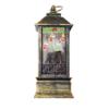 Kép 3/4 - Karácsonyi, kandallót imitáló LED lámpás / 12 cm