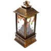 Kép 4/4 - Karácsonyi, kandallót imitáló LED lámpás / 12 cm