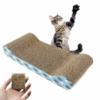 Kép 1/3 - Karton macskabútor és kaparófa / menta illattal