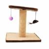 Kép 3/4 - Macskatorony - kaparófa játékokkal és fekvőhellyel (BPS-10706)