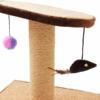 Kép 4/4 - Macskatorony - kaparófa játékokkal és fekvőhellyel (BPS-10706)
