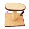 Kép 2/4 - Macskatorony - kaparófa játékokkal és fekvőhellyel (BPS-10706)