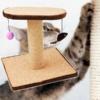 Kép 1/4 - Macskatorony - kaparófa játékokkal és fekvőhellyel (BPS-10706)