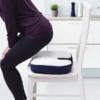 Kép 1/4 - Kényelmi ülőpárna farokcsont kivágással / zselé- és habszivacs párna