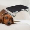 Kép 1/4 - Kicsi, összecsukható kutyaágy / fémvázas kutyafekhely – 60x40 cm