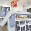Kép 1/6 - Ventilátor formájú, kinyitható E27 LED lámpa / állítható vetítési szöggel - 45W