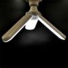 Kép 2/6 - Ventilátor formájú, kinyitható E27 LED lámpa / állítható vetítési szöggel - 45W
