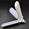 Kép 3/6 - Ventilátor formájú, kinyitható E27 LED lámpa / állítható vetítési szöggel - 45W