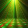 Kép 4/5 - Karácsonyi solar lézerfény / kültéri dekorvilágítás fényérzékelővel - piros-zöld lézershow...