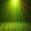Kép 2/5 - Karácsonyi solar lézerfény / kültéri dekorvilágítás fényérzékelővel - piros-zöld lézershow...