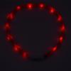 Kép 4/8 - Nagy világító LED-es nyakörv / méretre vágható, USB-s