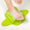 Kép 1/5 - Masszírozó lábmosó kefe beépített habkővel, tapadókorongokkal / a tökéletes lábápoló