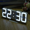 Kép 1/4 - Digitális LED óra hőmérővel / asztali és fali óra