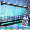 Kép 1/5 - 4W LED akvárium világítás távirányítóval / RGBW akváriumlámpa