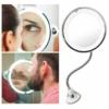 Kép 6/6 - Flexibilis kozmetikai tükör tapadókoronggal, 10-szeres nagyítással