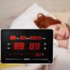 Kép 1/3 - LED kijelzős digitális óra naptárral, hőmérővel és ébresztővel