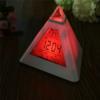 Kép 3/5 - Piramis alakú színváltós ébresztőóra