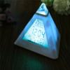 Kép 4/5 - Piramis alakú színváltós ébresztőóra