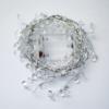 Kép 2/3 - Gyöngy dekor led füzér / hangulatvilágítás – 180 cm