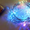 Kép 3/3 - Gyöngy dekor led füzér / hangulatvilágítás – 180 cm