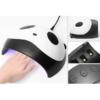 Kép 2/4 - Panda mintájú ledes UV lámpa műkörömhöz