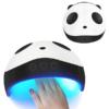Kép 3/4 - Panda mintájú ledes UV lámpa műkörömhöz