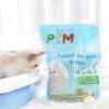 Kép 5/6 - Lebomló macskaalom / csomósodó, WC-n lehúzható, 6 liter - zöld tea