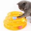 Kép 1/4 - Háromszintes labdás játéktorony macskáknak