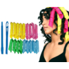 Kép 2/3 - Mágikus hajformázó és hajgöndörítő készlet / 18 darabos