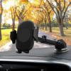 Kép 1/4 - C10 autós telefontartó és vezeték nélküli töltő infravörös érzékelővel