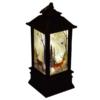 Kép 3/5 - Karácsonyi mintás LED lámpás - 19 cm