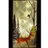 Kép 2/5 - Karácsonyi mintás LED lámpás - 19 cm