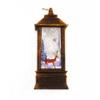 Kép 5/5 - Karácsonyi mintás LED lámpás - 19 cm
