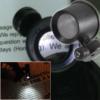 Kép 1/4 - Órás nagyító 10x-es nagyítással és LED világítással