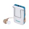 Kép 2/3 - Hangerősítő készülék - fülbe dugható hallókészülék több füldugóval