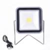 Kép 1/3 - Napelemes asztali LED lámpa / 30 leddel, tölthető akkumulátorral