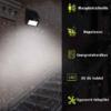 Kép 4/4 - Napelemes fali lámpa mozgás- és fényérzékelővel, 20 leddel