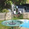 Kép 1/4 - Napelemes szökőkút kerti tóba, medencébe