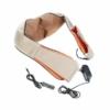 Kép 4/5 - 2 db Shiatsu elektromos nyak-, váll- és testmasszírozó készülék / infravörös fűtés funkcióval...