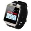 Kép 3/4 - Okosóra kártyafüggetlen SIM foglalattal és kamerával / Bluetooth SmartWatch - fekete