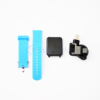 Kép 2/5 - Érintőkijelzős okosóra / pulzus- és vérnyomásmérő Bluetooth SmartWatch, kék