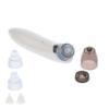 Kép 4/4 - Akkumulátoros orrszívó készülék, állítható erősséggel, pórustisztító fejekkel