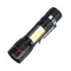 Kép 1/3 - USB-ről tölthető Tech Light LED lámpa piros-kék villogóval és zoom funkcióval