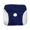 Kép 2/3 - Plüssborítású, tartásjavító ülőpárna hátfájdalmak ellen