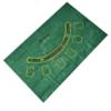 Kép 4/4 - Komplett póker készlet / filc játékfelület, 200 db zseton, 2 pakli kártya