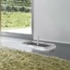 Kép 2/6 - Beltéri kutya toalett / helyhez szoktató, pelenkarögzítő keret